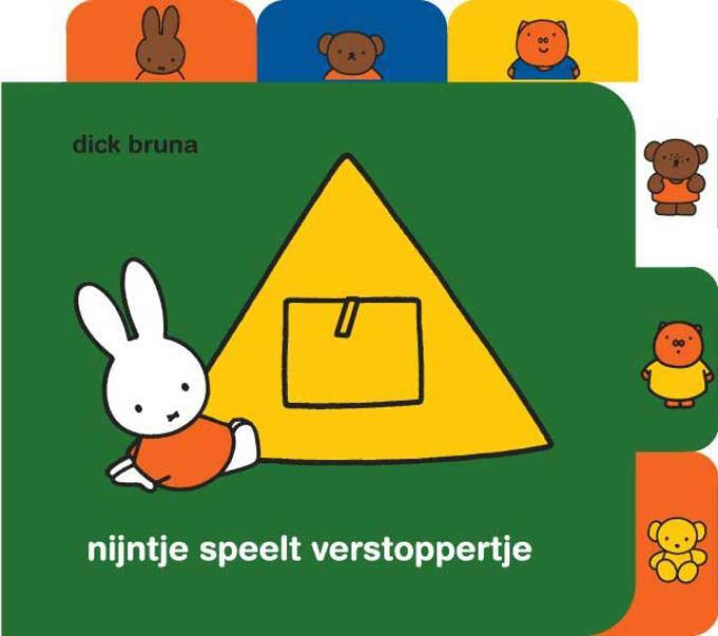 nijntje nijntje speelt verstoppertje - Dick Bruna