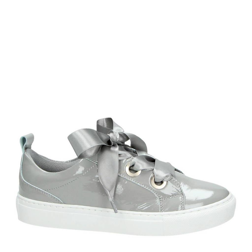 PS Poelman lakleren sneakers, Grijs