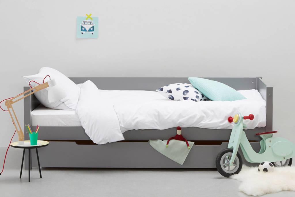 whkmp's own bedbank inclusief bedlade Charlie (90x200 cm), Grijs