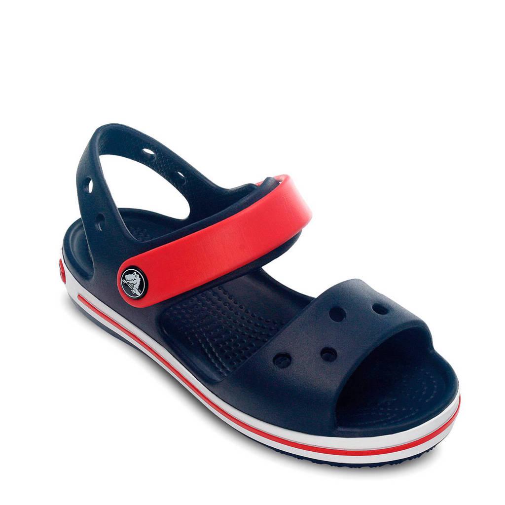 Crocs   Crocband outdoor sandalen donkerblauw, Donkerblauw/rood