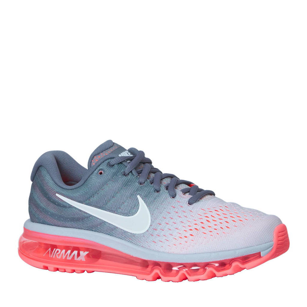 quality design 2a8fa 686e9 Nike Air Max 2017 sneakers, Grijs/roze/wit