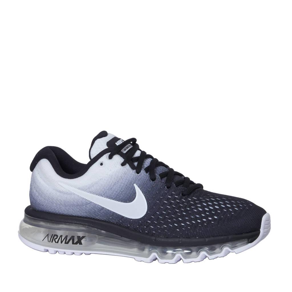 7b4eaa80bb6 Nike Air Max 2017 sneakers, Zwart/wit
