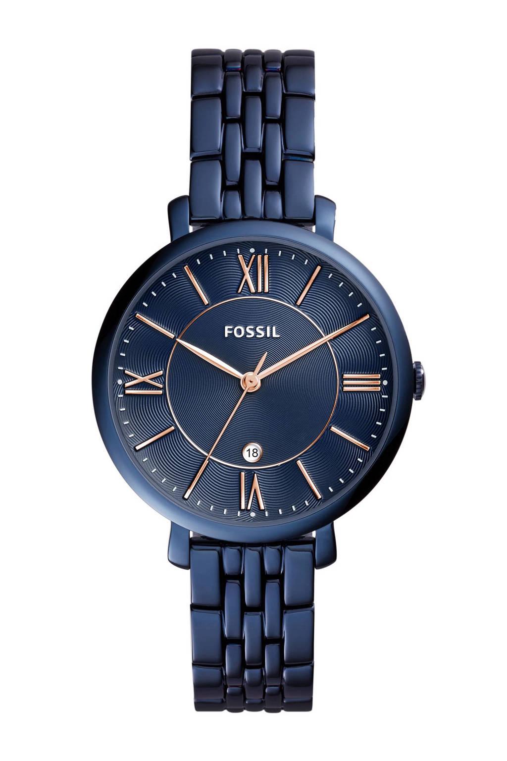 Fossil horloge, Blauw