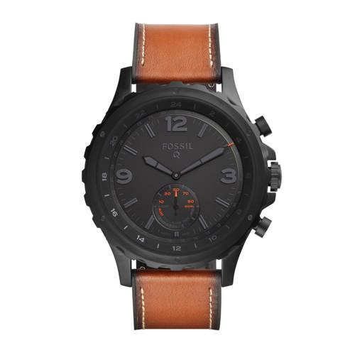 Fossil Q Nate hybrid watch kopen