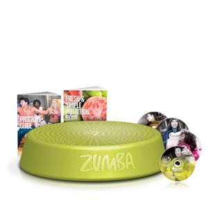 Zumba step rizer + 4 dvd's