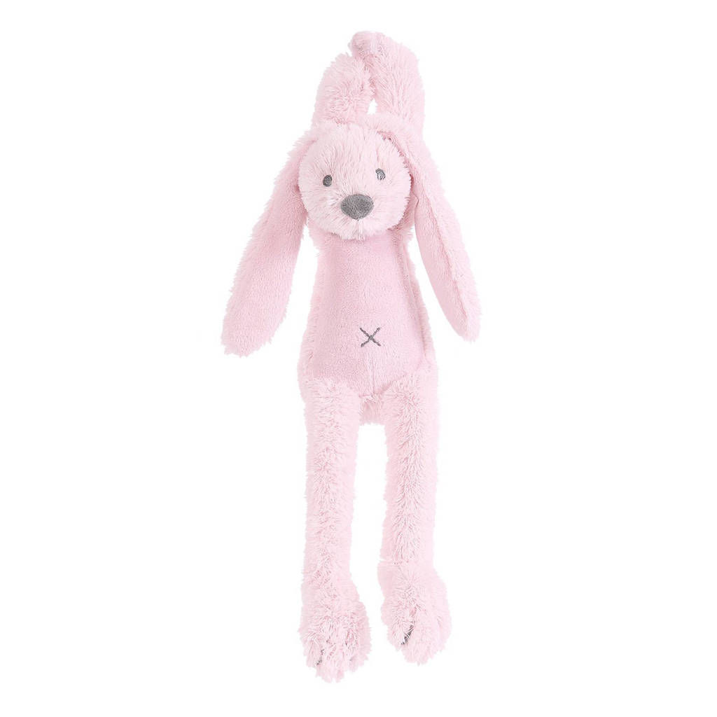 Happy Horse konijn Richie muziek knuffel 34 cm, Pink