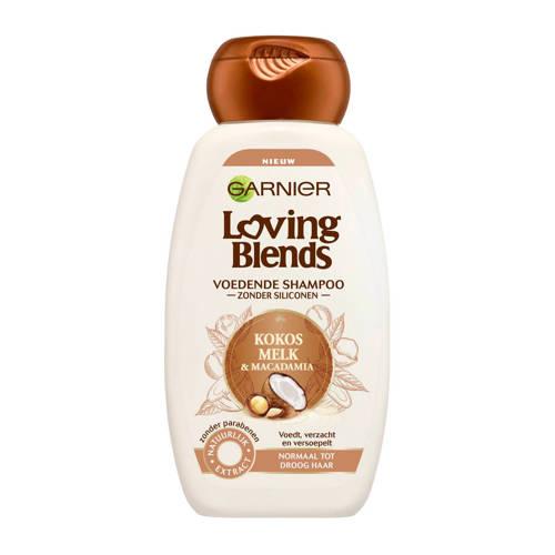 Garnier Loving Blends Kokos & Macadamia Shampoo 250ml