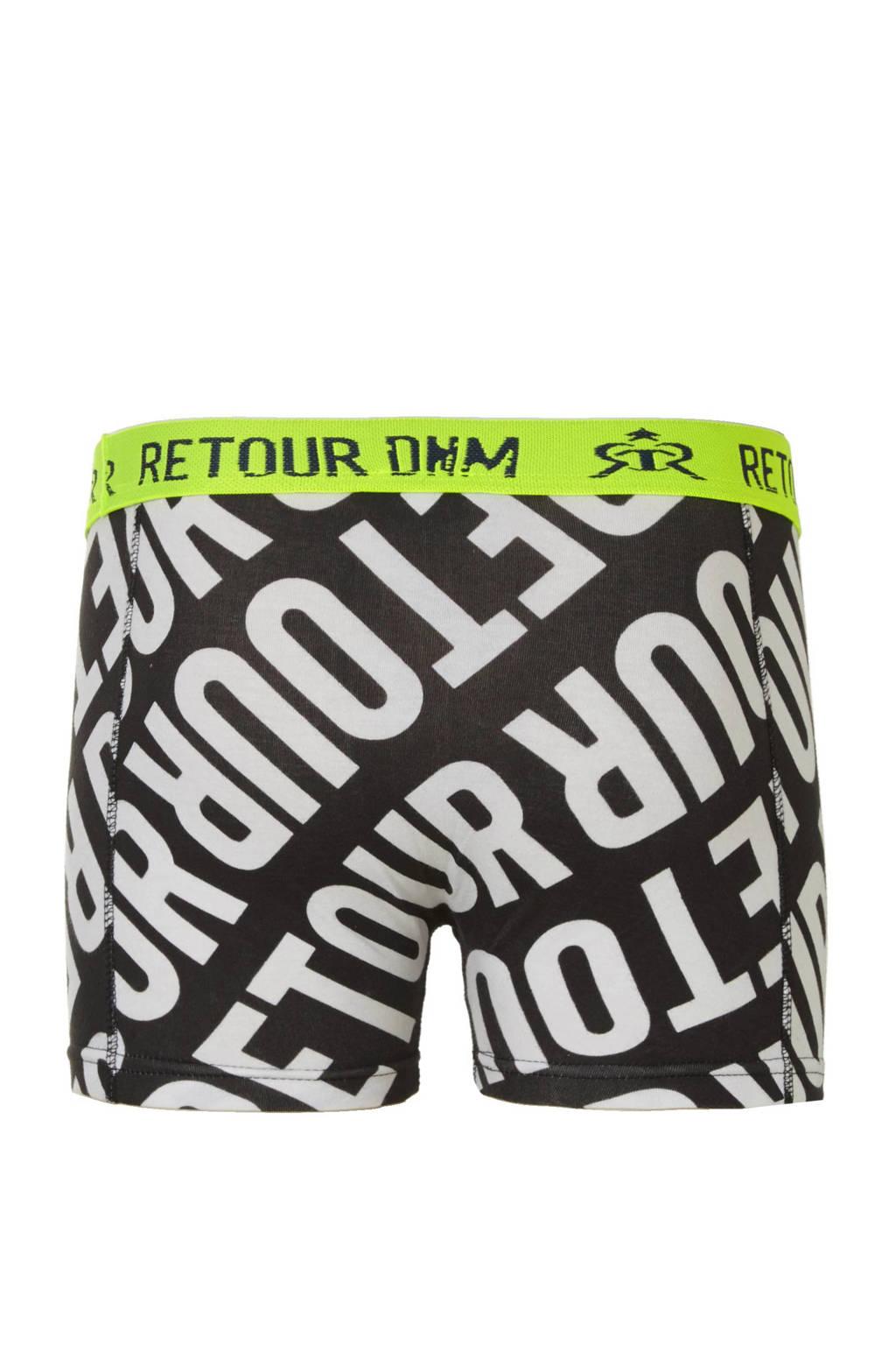 af083bfab4080e Retour Denim boxers (set van 2), Zwart/wit/blauw