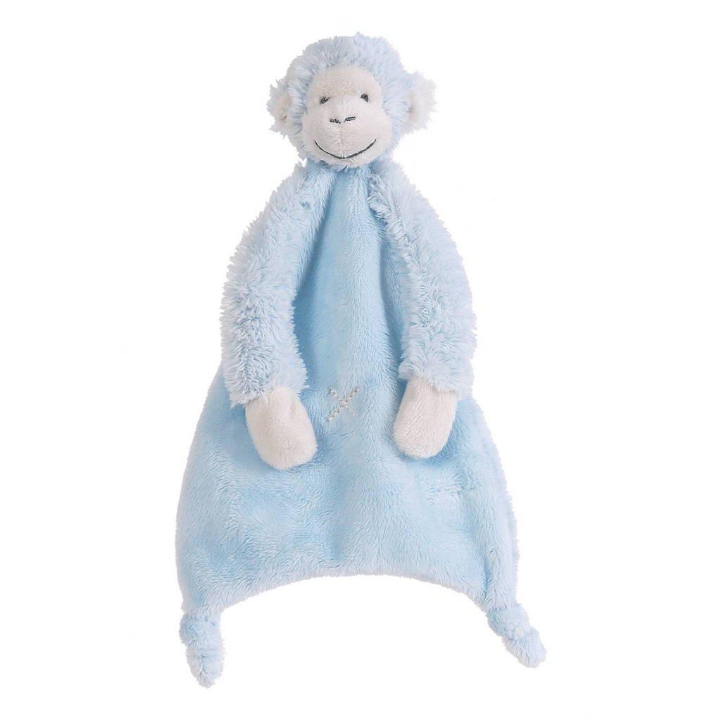Happy Horse aap Mickey knuffeldoekje, blue