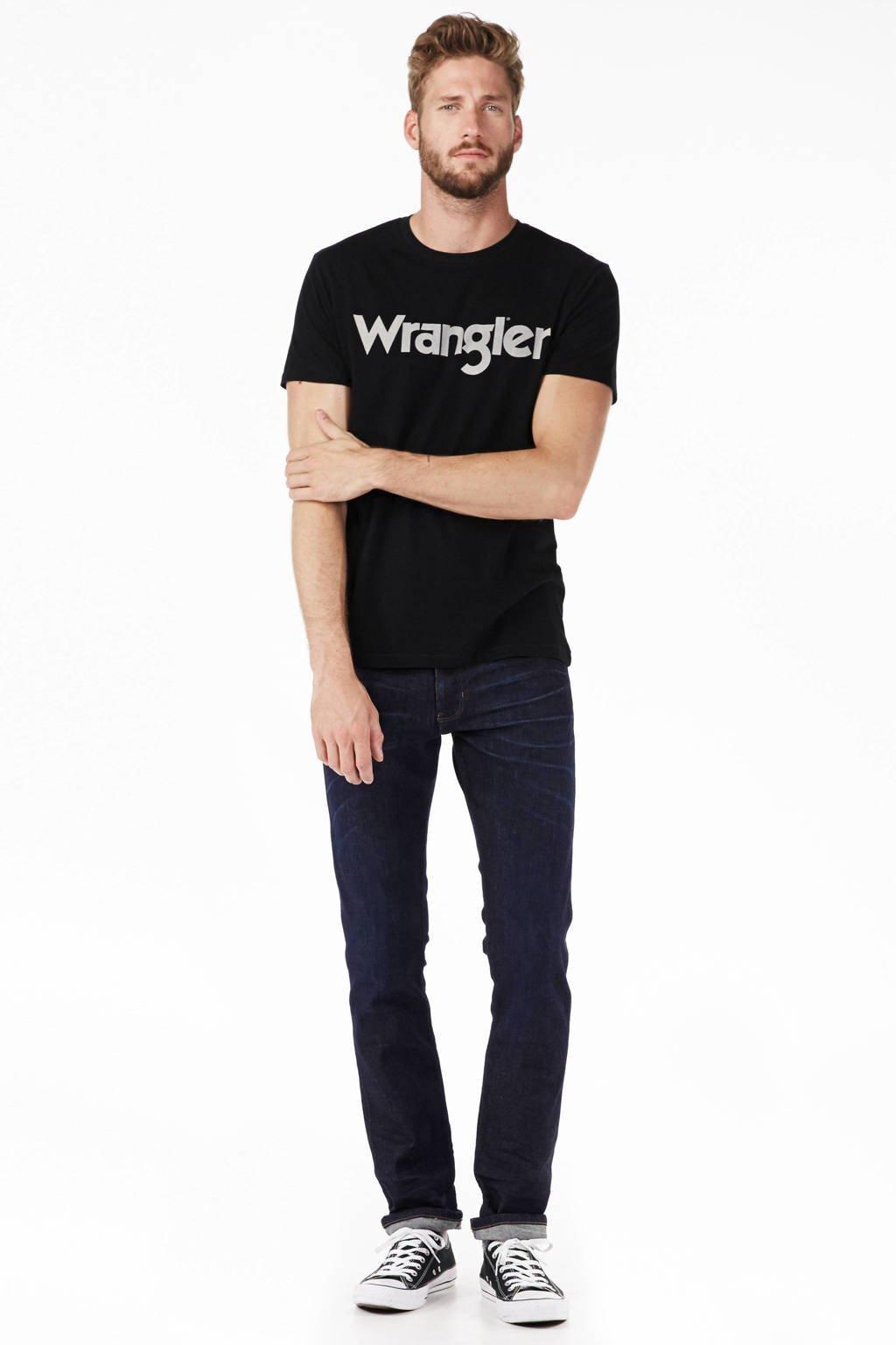 Wrangler T-shirt, Zwart