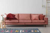 Wehkamp Home 4-zitsbank Verona, Roze (velours)