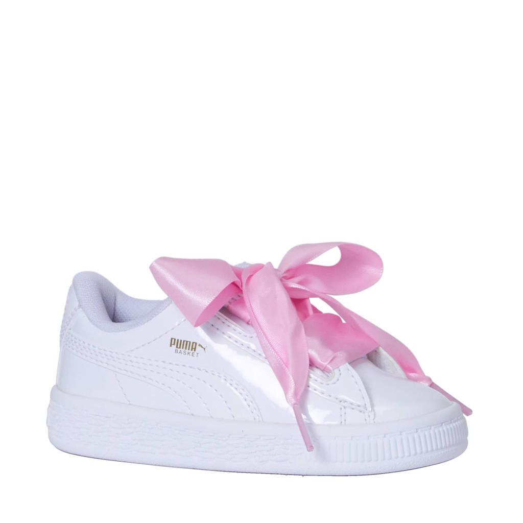 wholesale dealer 0e7e9 49704 Puma Basket Heart Patent sneakers   wehkamp