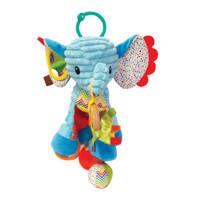 Infantino  speel olifant, Blauw