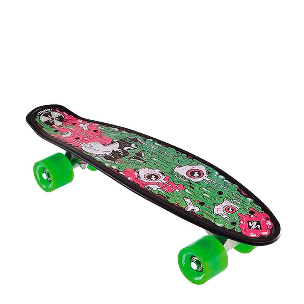 StreetSurfing Pop Board Melt pennyboard, Groen