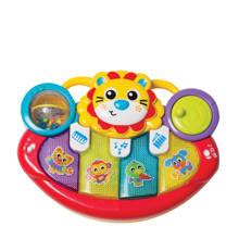vrolijke speelgoed piano leeuw
