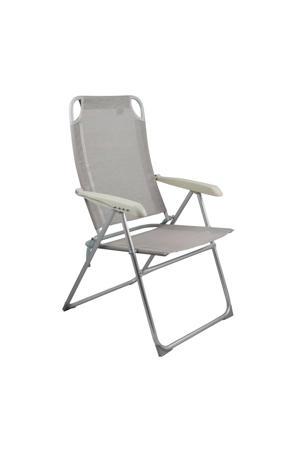 Balos campingstoel grijs