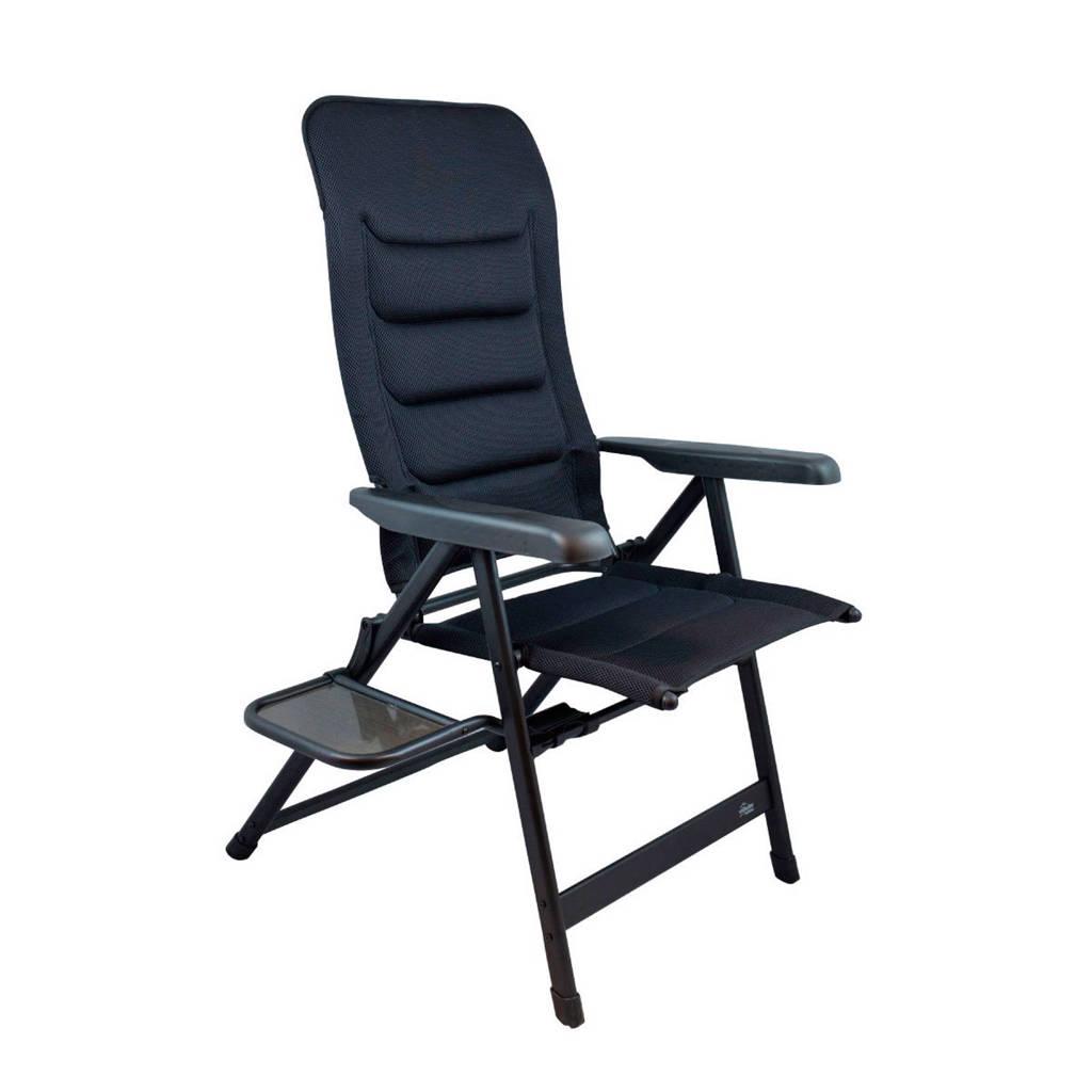 Vrijbuiter Outdoor  Grayton campingstoel zwart, Zwart