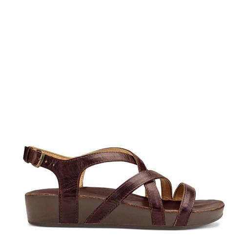 Olukai Nana leren sandalen