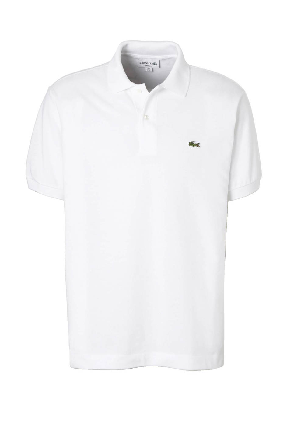 Lacoste classic fit polo, Wit