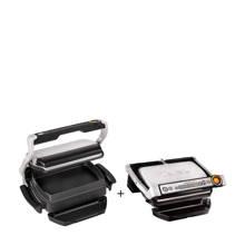 GC712D en XA7228 contactgrill met Snacking & Baking accessoire