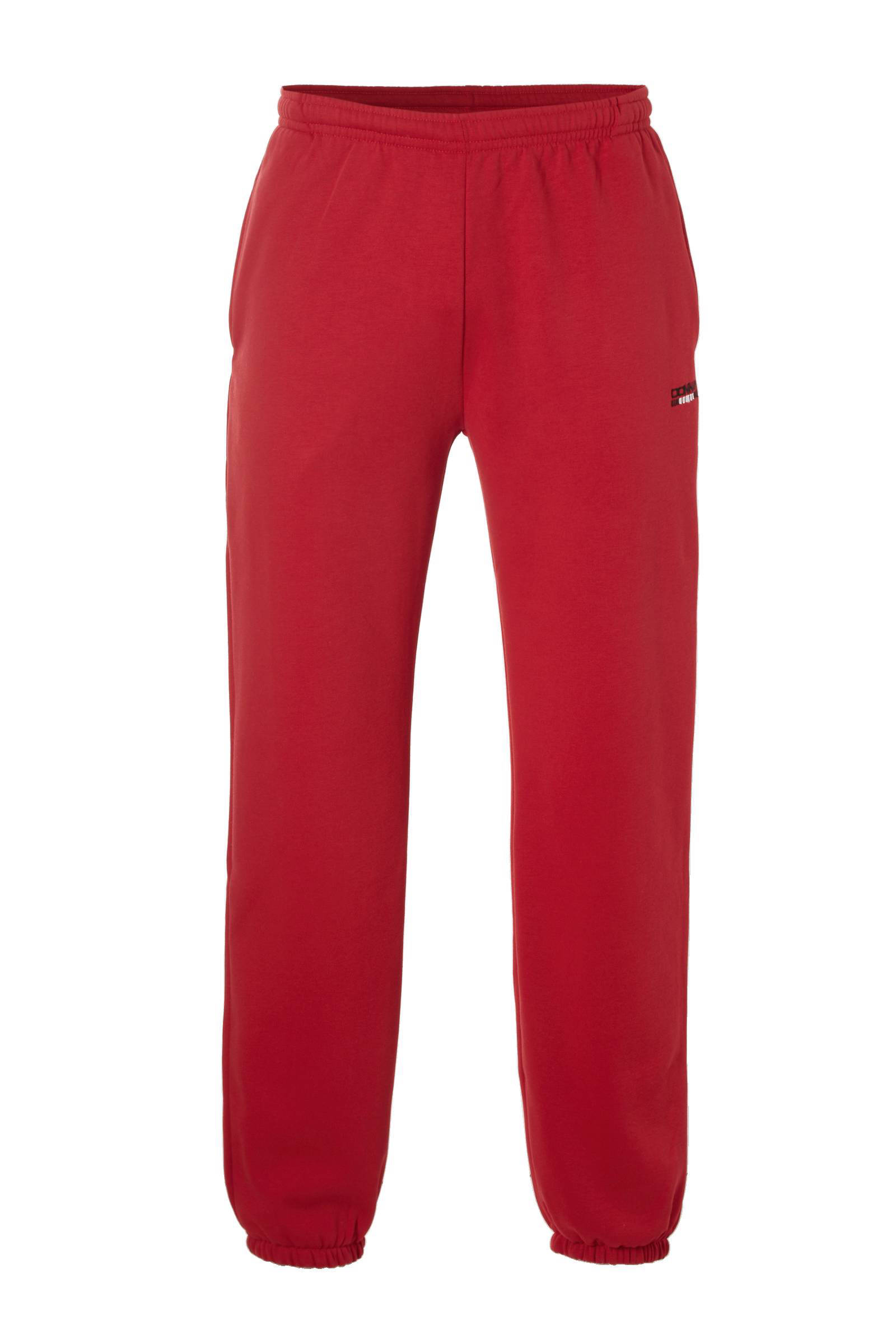 Rode Joggingbroek Heren.Donnay Joggingbroek Rood Wehkamp