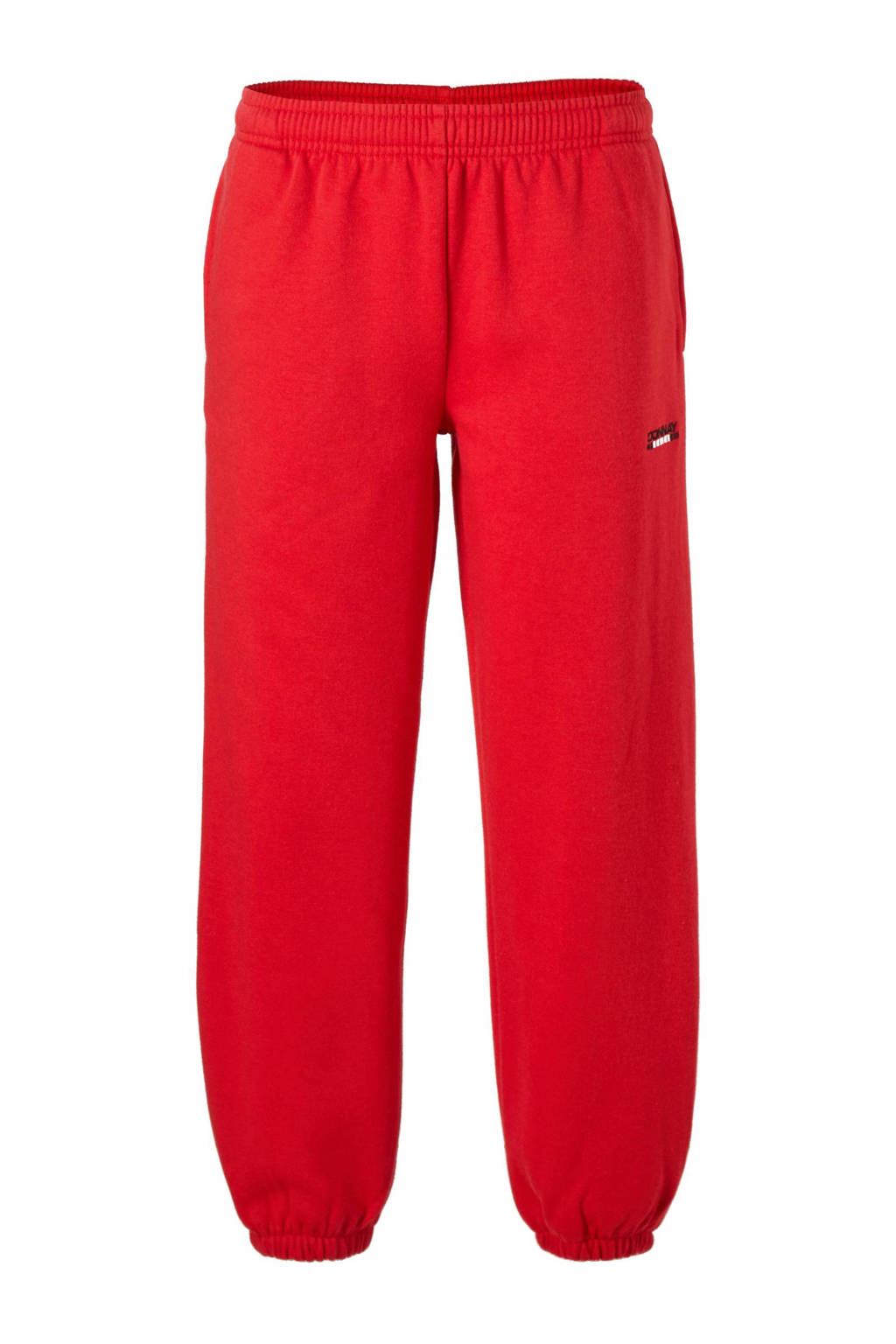 Donnay   joggingbroek rood, Joggingbroek Rood