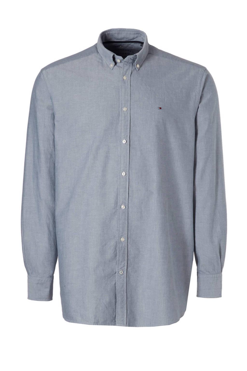 2288f5102 Tommy Hilfiger Big & Tall +size Engineered Oxford regular fit overhemd, ...