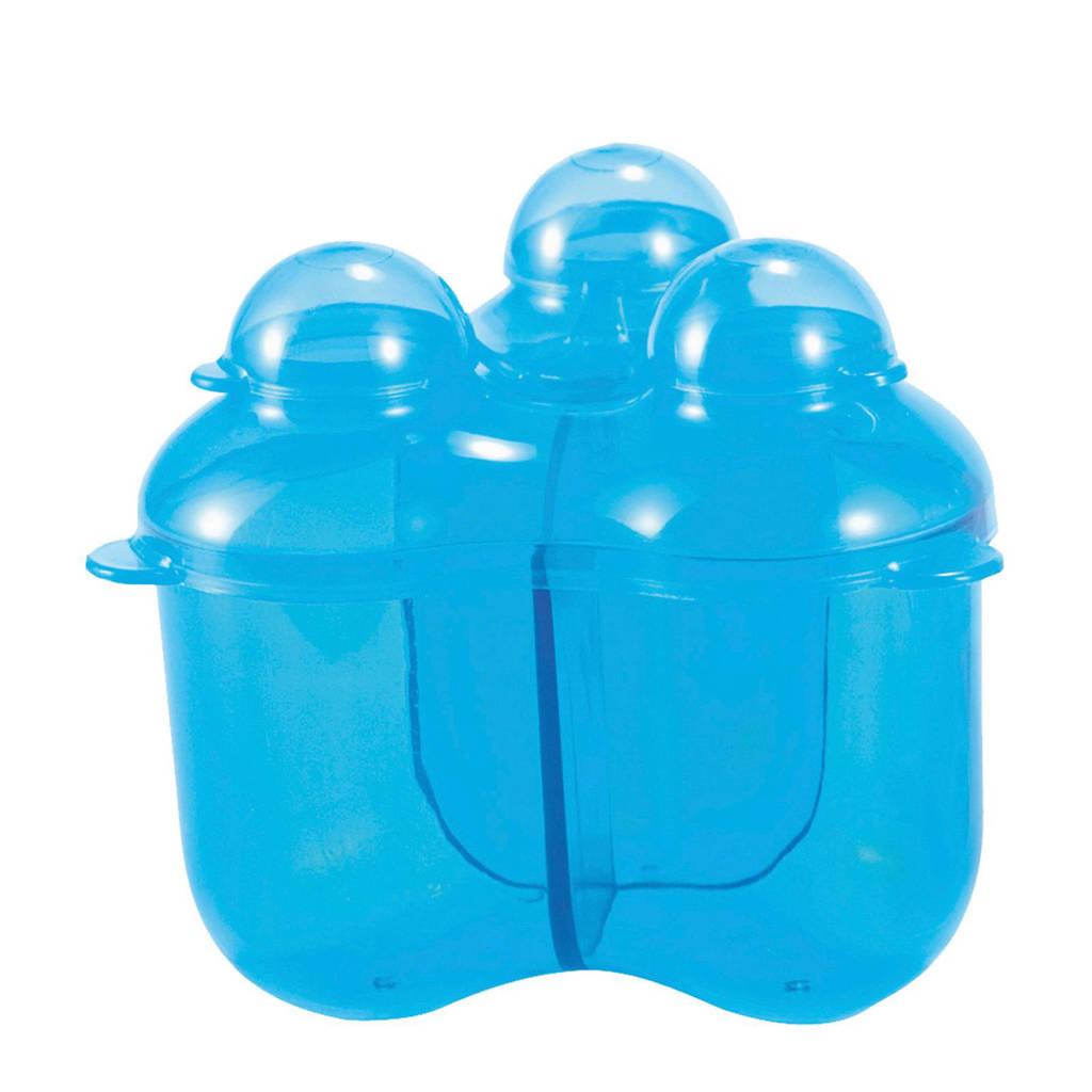 Difrax drievaks melkpoederdoosje blauw, Blauw
