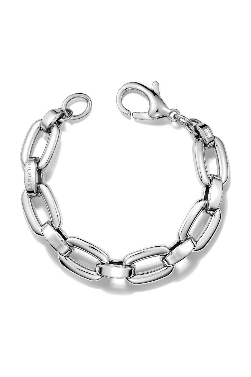 Tommy Hilfiger armband, Zilver