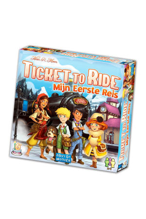 Ticket to Ride mijn eerste reis kinderspel kinderspel
