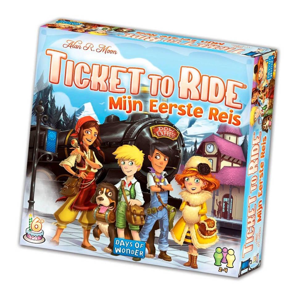 Days of Wonder Ticket to Ride mijn eerste reis Uitbreidingsspel