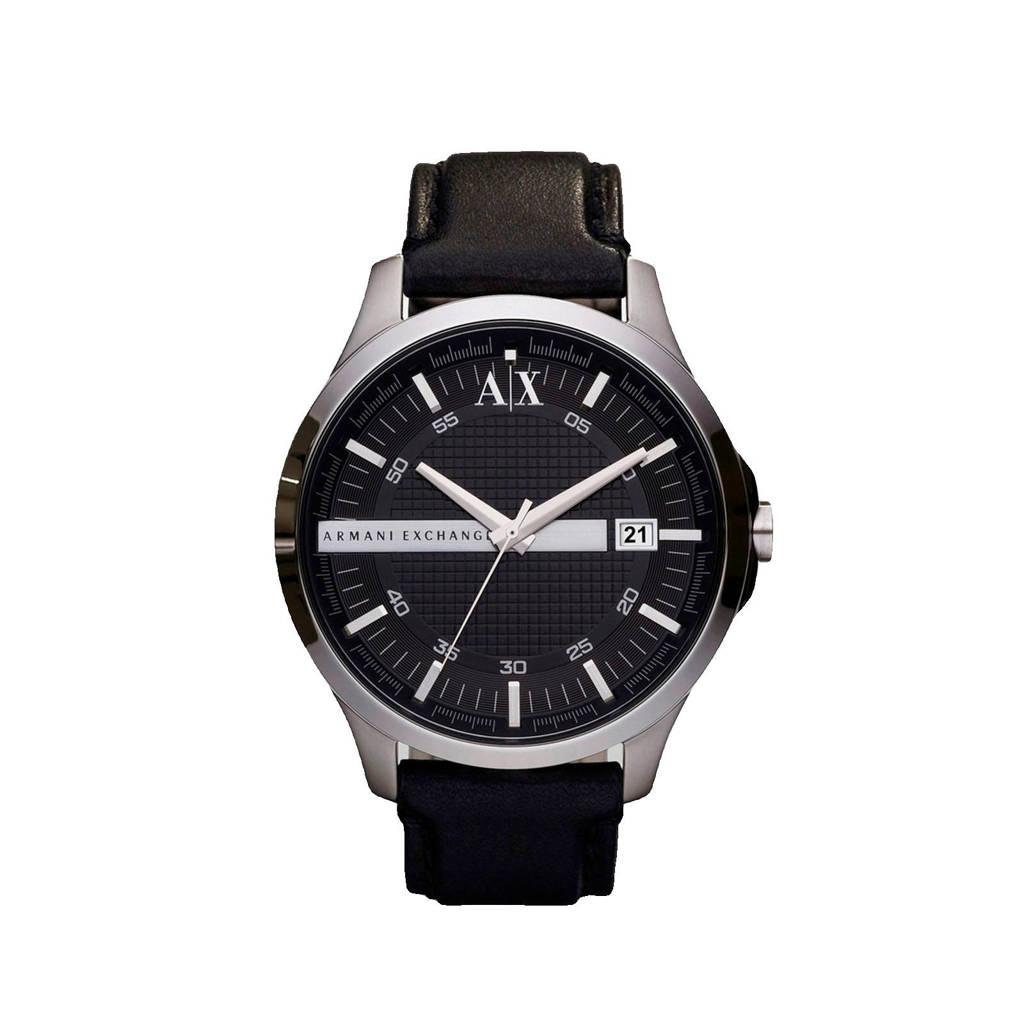 Armani Exchange Hampton Heren Horloge AX2101, Zilver