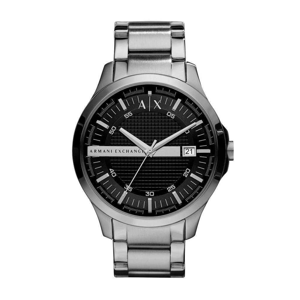 Armani Exchange heren horloge Hampton AX2103, Zilver