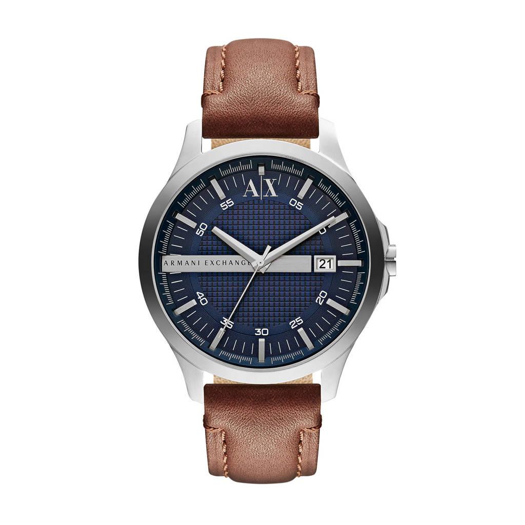 Armani Exchange Hampton Heren Horloge AX2133, Zilver