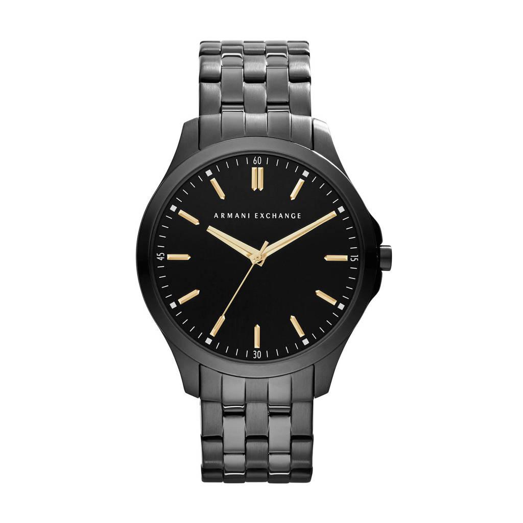 Armani Exchange heren horloge Hampton AX2144, Zwart
