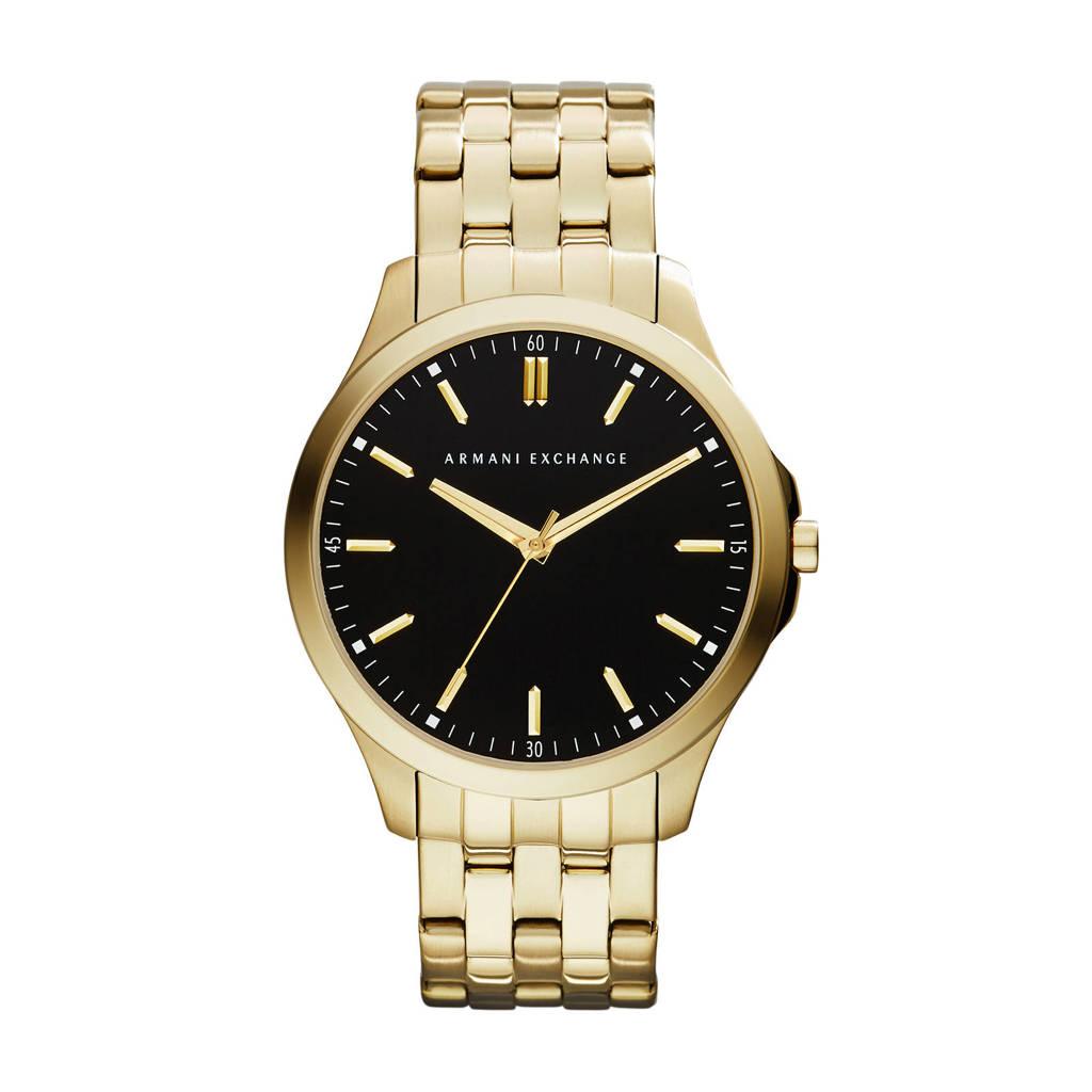 Armani Exchange horloge, Goud