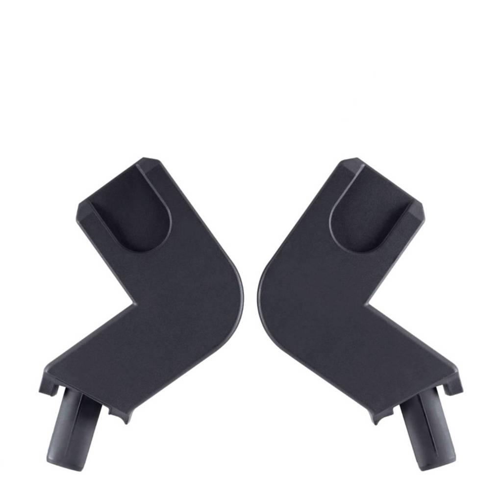 GB autostoel adapter voor buggy Qbit/Qbit+, Zwart