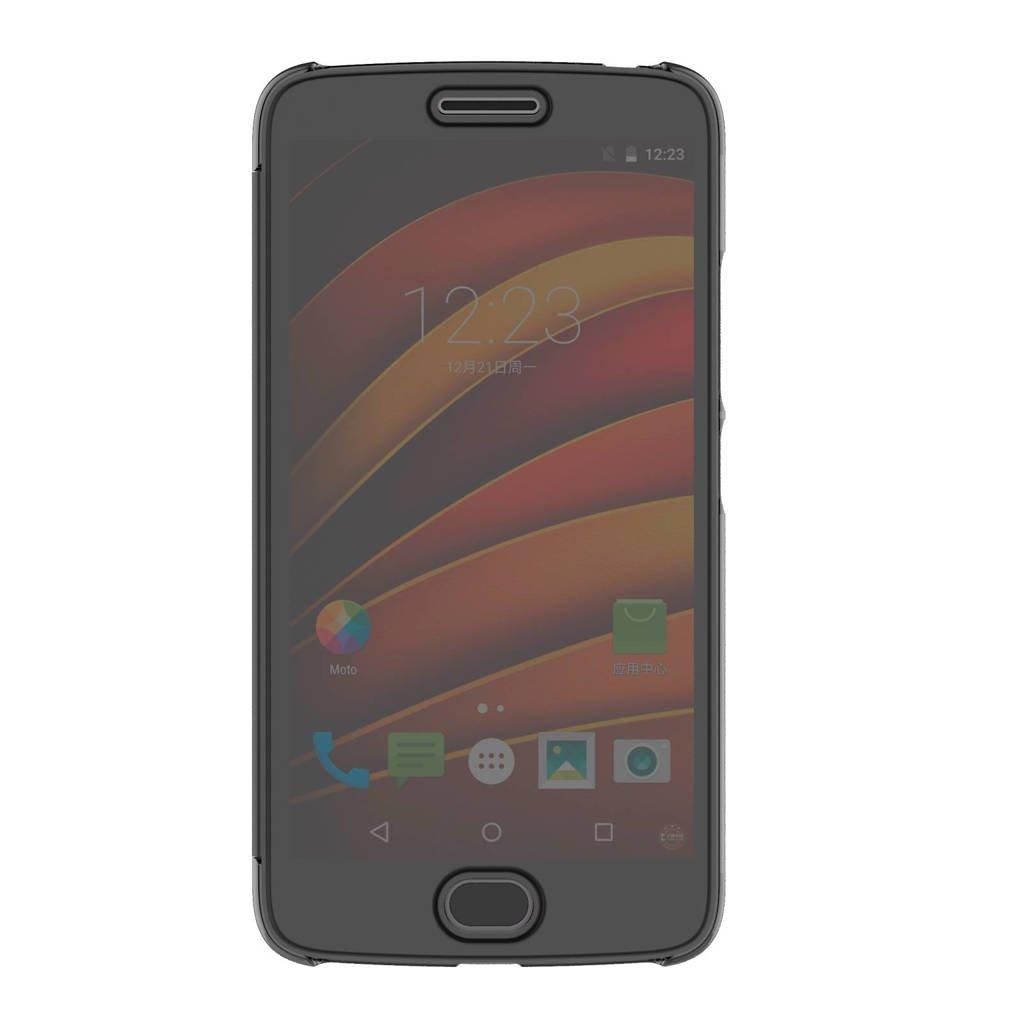 Motorola Moto G5 flipcover, Grijs