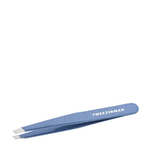 Tweezerman slant tweezer granite sky