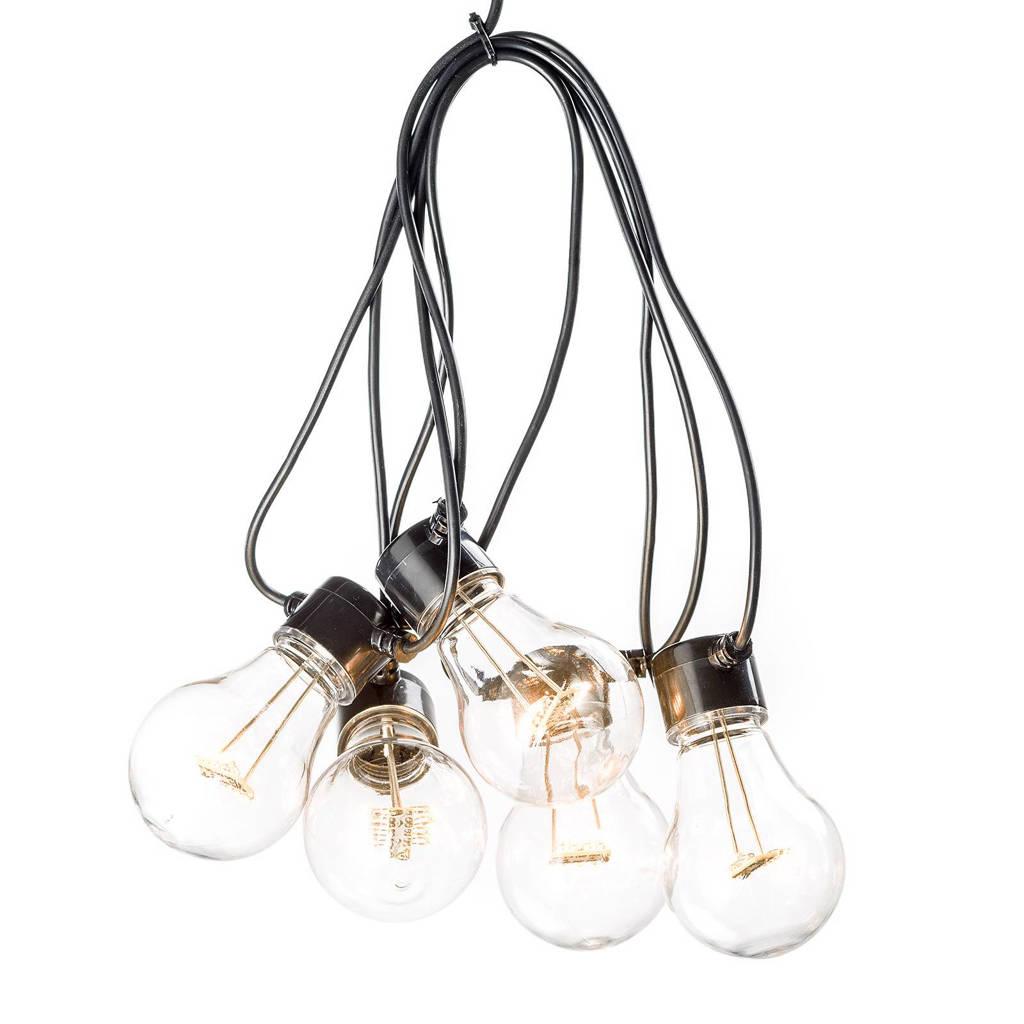 Konstsmide 24V lichtsnoer (10 lampen), Extra warm wit
