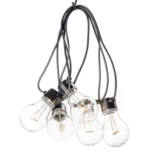 LED feestverlichting met heldere lampen 19.5 meter 20 lampen