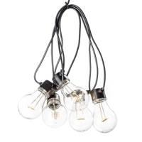 Konstsmide 24V lichtsnoer (20 lampen), Warm wit