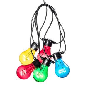 lichtsnoer (5 lampen, met timer)