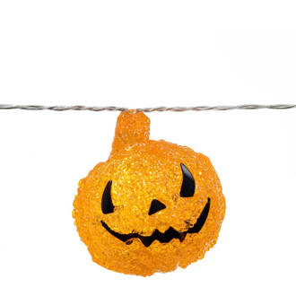 halloween lichtsnoer (8 pompoenen)