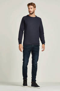 JACK & JONES JEANS INTELLIGENCE slim fit jeans Glenn black denim, Black denim