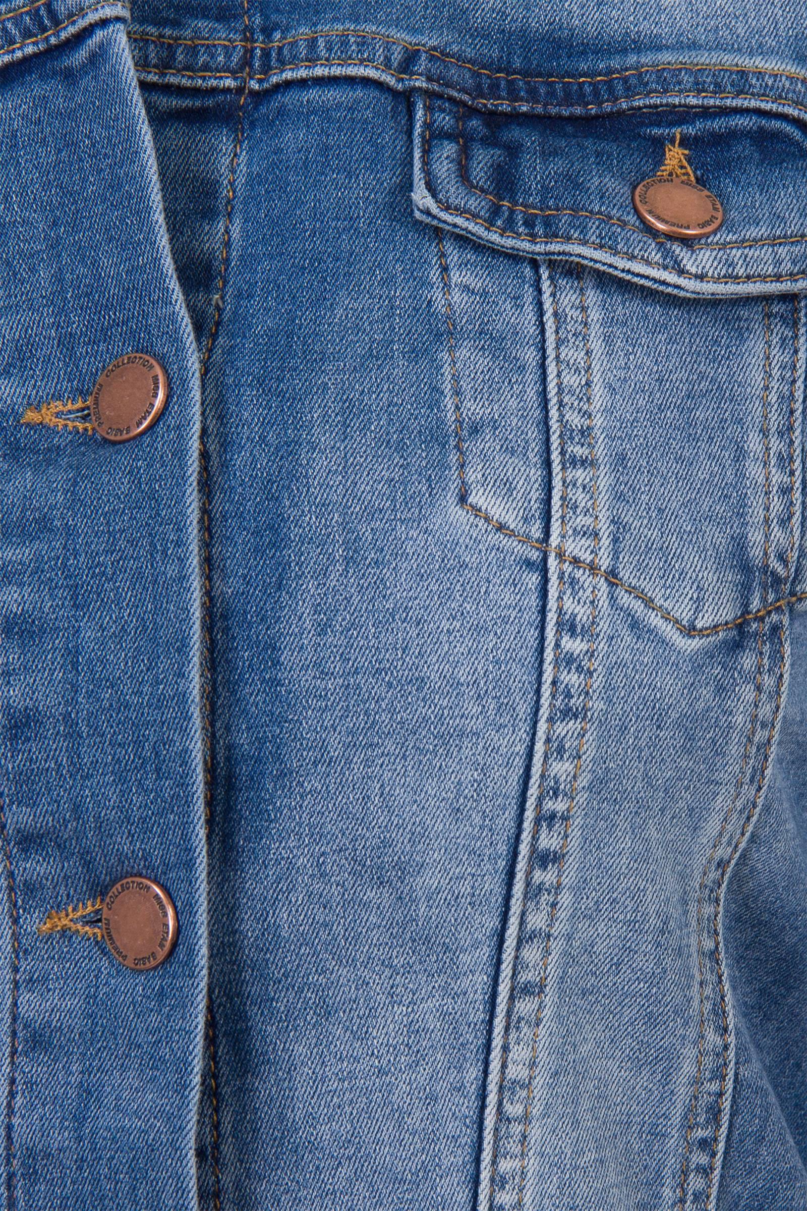 Miss Etam Lang spijkerjasje | wehkamp