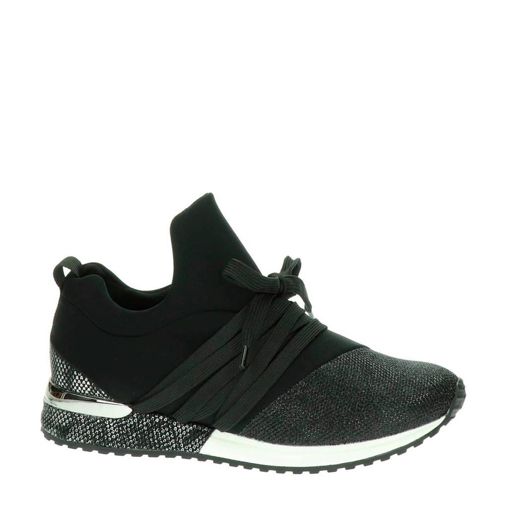 La Strada  sneakers, Zwart