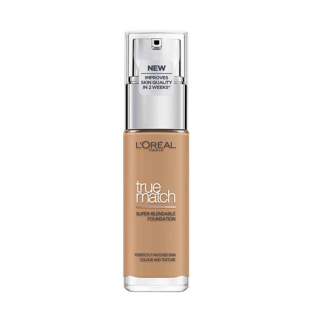 L'Oréal Paris True Match Foundation -7.D/7.W Golden Amber, 7D/7W Golden Amber