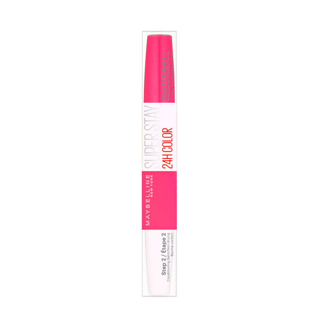 Maybelline New York Superstay 24H Super Impact - 183 Pink goes on