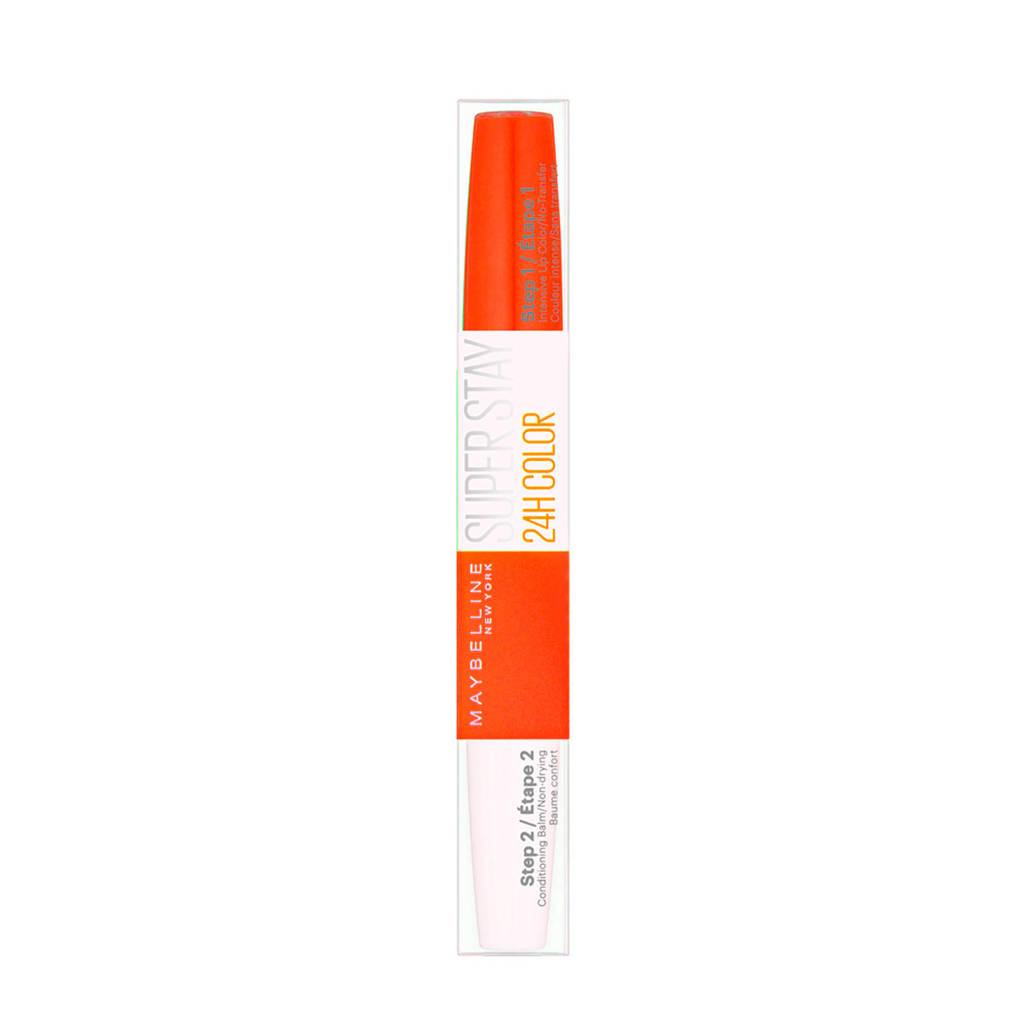 Maybelline New York Superstay 24H Super Impact - 483 Nonstop orange